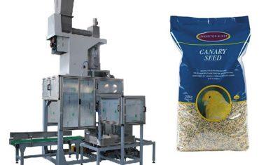 20kg semena zrna otvorene vreće i vage za punjenje vreća