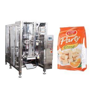 Kompletna automatska mašina za pakovanje hrane Quad Seal Bag