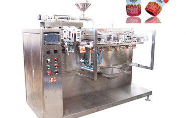 Mašina za pakovanje ketchup-a sa prethodno napravljenom torbom
