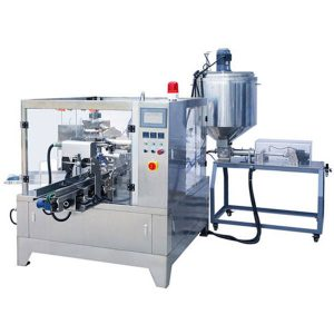 Premade Pouch Liquid & Paste Packing Machine