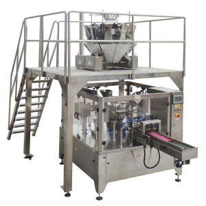 Rotirajuća automatska torba za zipper-punjenje Mašina za pakovanje pečata za matice sjemena
